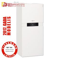 gāzes apkures katli Gāzes kondensācijas apkures katli- Viessmann Vitodens 222-F (13-35kw) B2TB + Vitotronic 200 (2017 MODELIS)