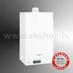 gāzes apkures katli Gāzes kondensācijas apkures katli- Viessmann Vitodens 100-W (19-35kW) B1HC ar boilera pieslēgumu