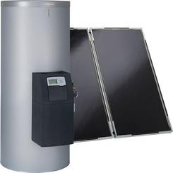 saules kolektori Solārais komplekts Vitosol 200-F ar Vitocell 100-W/-B (SD1)